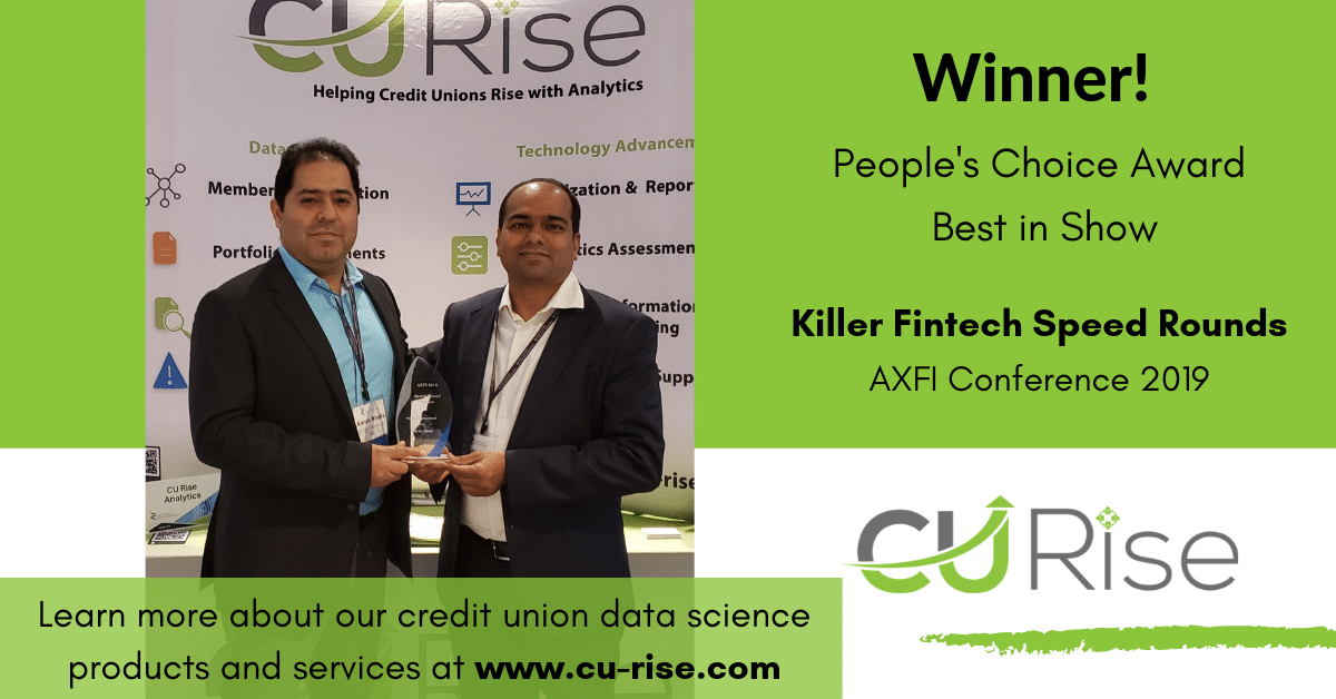 CU Rise Analytics Takes Home People's Choice Award at AXFI Killer Fintech Speed Rounds